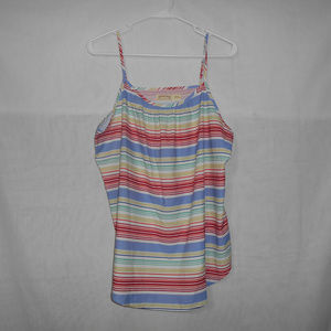 5/$20 Faded-Glory Womens Size Large Tank Top Strip